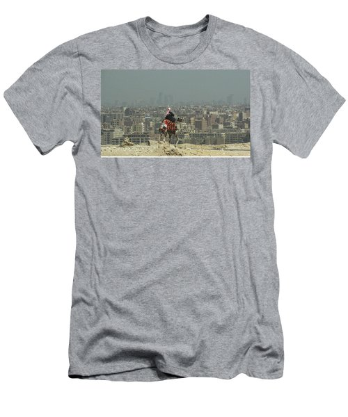 Cairo Egypt Men's T-Shirt (Slim Fit) by Jennifer Wheatley Wolf