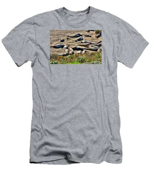 Men's T-Shirt (Slim Fit) featuring the photograph California Dreaming by Jim Carrell