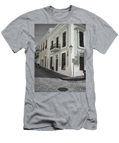 Calle De Luna Y Calle Del Cristo Men's T-Shirt (Athletic Fit)