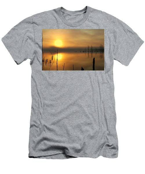Calm At Dawn Men's T-Shirt (Athletic Fit)