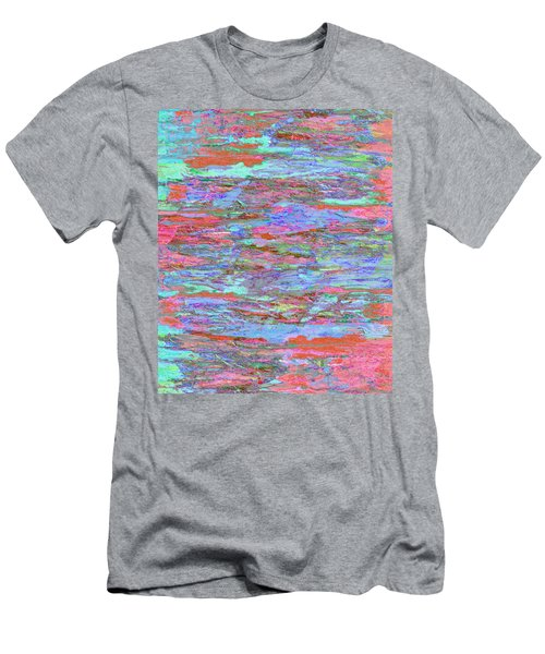 Men's T-Shirt (Slim Fit) featuring the digital art Calmer Waters by Stephanie Grant