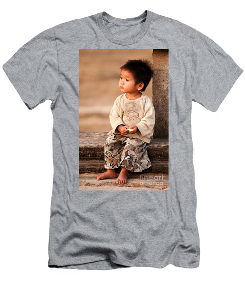 Cambodian Girl 02 Men's T-Shirt (Athletic Fit)