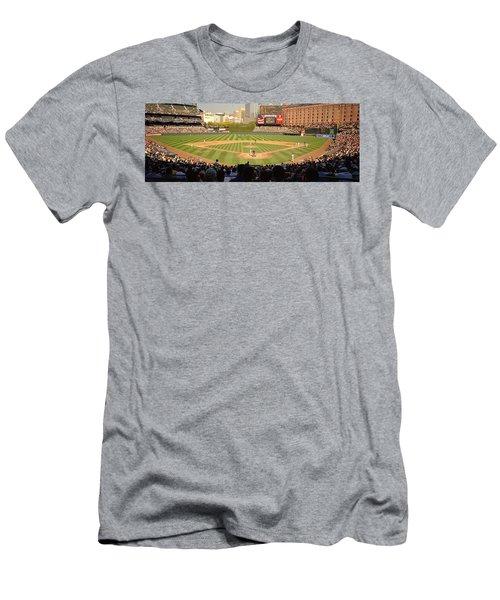 Camden Yards Baseball Game Baltimore Men's T-Shirt (Athletic Fit)