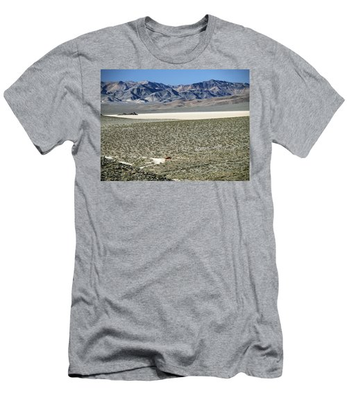 Men's T-Shirt (Slim Fit) featuring the photograph Camped At The End Of The Road by Joe Schofield