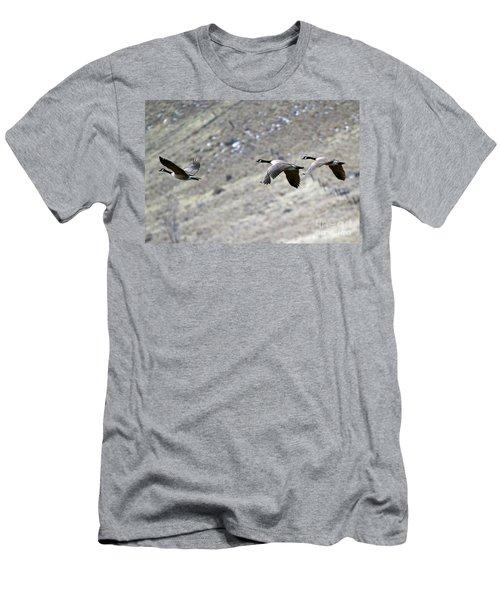Canadian Flight Men's T-Shirt (Athletic Fit)