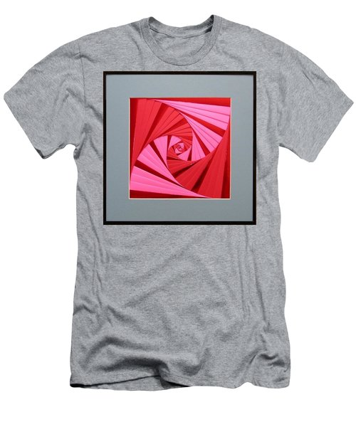 Candy Cane Men's T-Shirt (Athletic Fit)