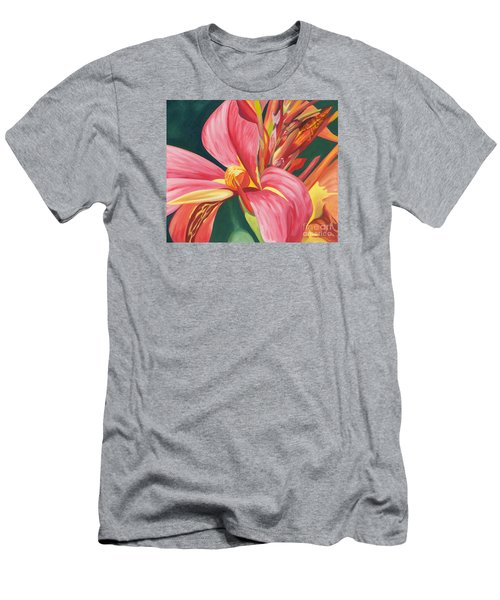 Canna Lily 2 Men's T-Shirt (Athletic Fit)