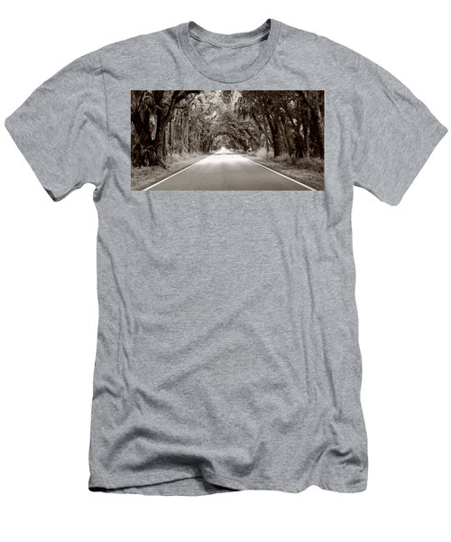 Canopy Of Trees Men's T-Shirt (Athletic Fit)
