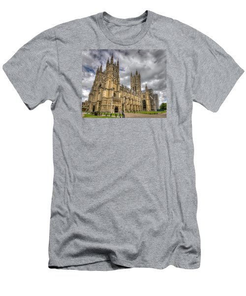 Canterbury Cathedral Men's T-Shirt (Slim Fit) by Tim Stanley