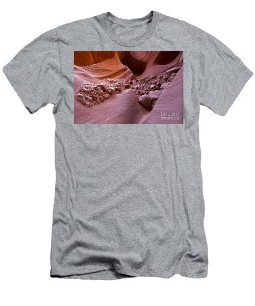 Canyon Rocks In Abundance  Men's T-Shirt (Athletic Fit)