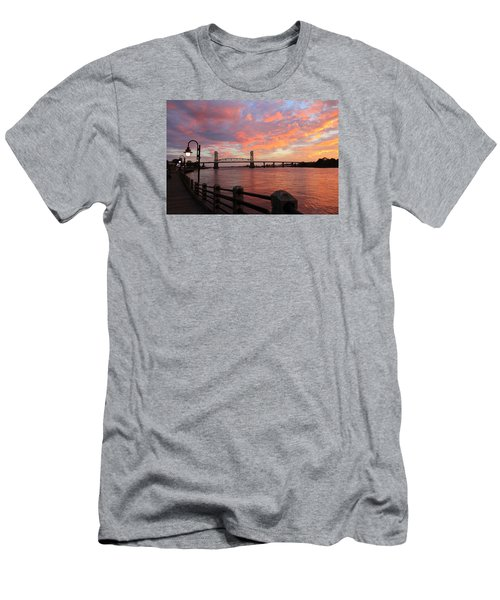 Cape Fear Bridge Men's T-Shirt (Athletic Fit)