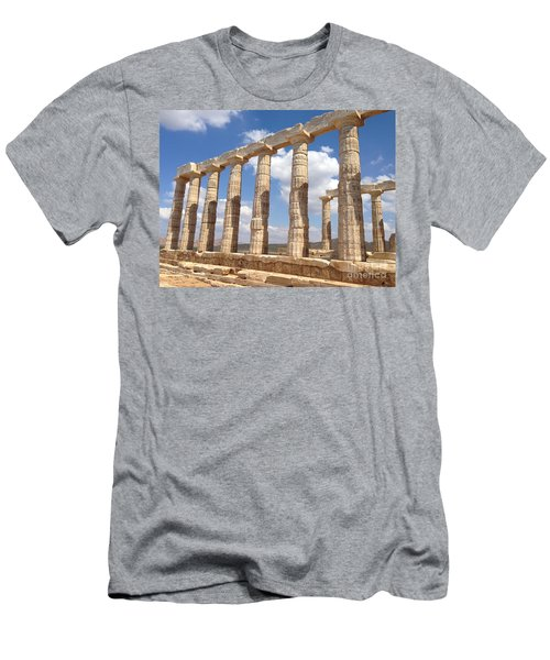 Cape Sounion Men's T-Shirt (Athletic Fit)