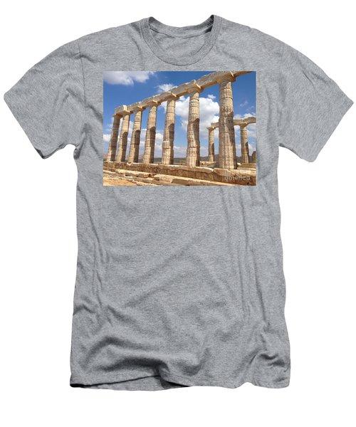 Cape Sounion Men's T-Shirt (Athletic Fit)