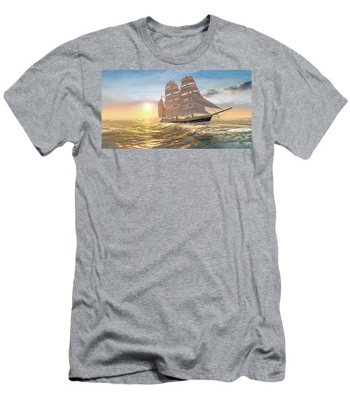 Captain Larry Paine Clippership Men's T-Shirt (Athletic Fit)