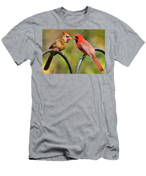 Cardinal Love Men's T-Shirt (Athletic Fit)