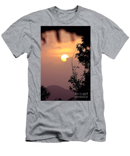 Caribbean Summer Solstice  Men's T-Shirt (Slim Fit) by The Art of Alice Terrill