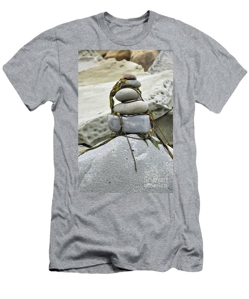 Carpinteria Stones Men's T-Shirt (Athletic Fit)