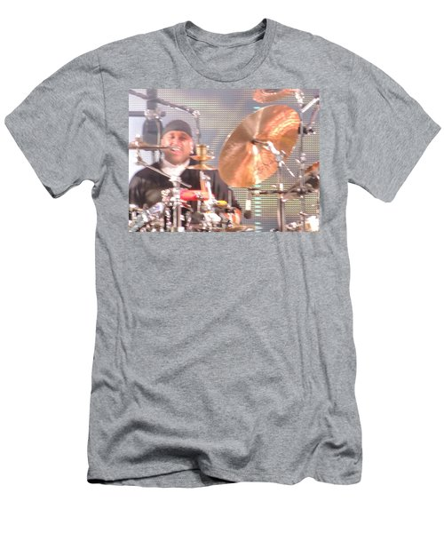Men's T-Shirt (Slim Fit) featuring the photograph Carter Doing What He Does Best by Aaron Martens
