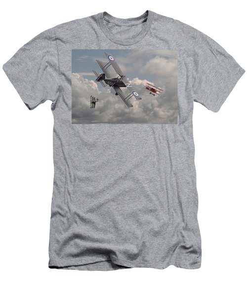Cat Among The Pigeons Men's T-Shirt (Athletic Fit)