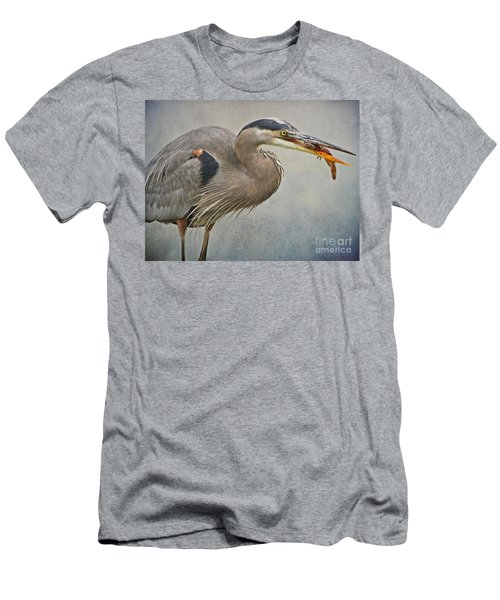 Men's T-Shirt (Slim Fit) featuring the photograph Catch Of The Day by Heather King
