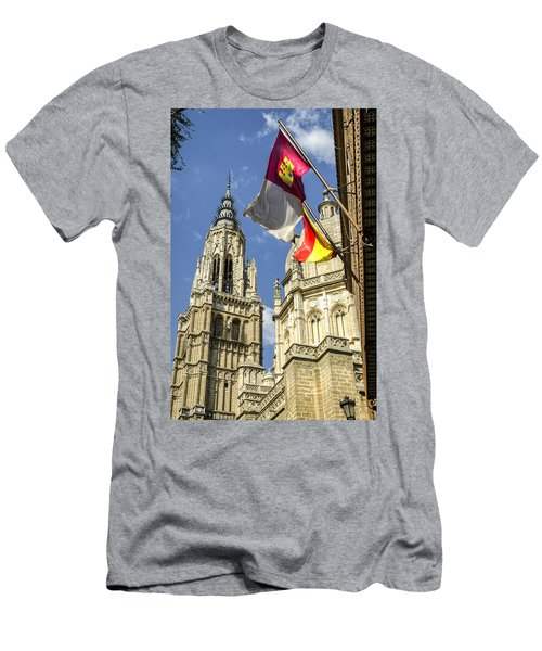 Catedral De Santa Maria De Toledo Men's T-Shirt (Athletic Fit)