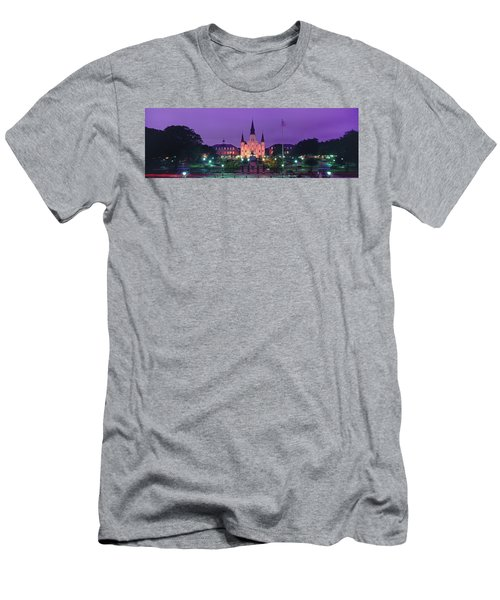 Cathedral In A City, St. Louis Men's T-Shirt (Athletic Fit)