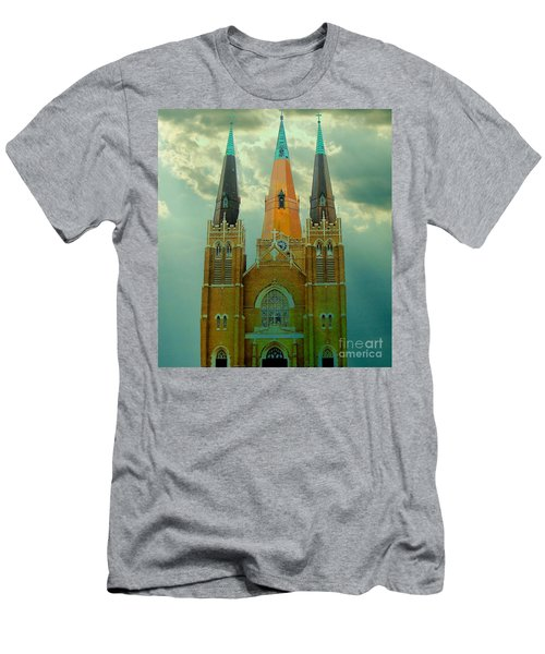 Cathedral Of The Holy Family  Men's T-Shirt (Athletic Fit)