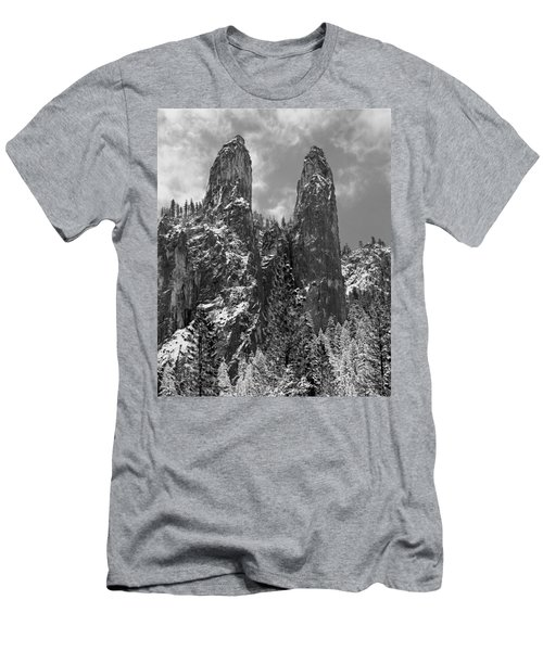 Cathedral Spires Men's T-Shirt (Athletic Fit)