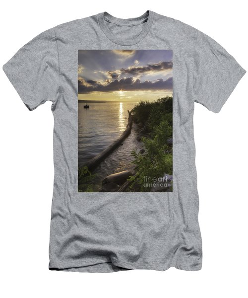 Cayuga Sunset II Men's T-Shirt (Athletic Fit)
