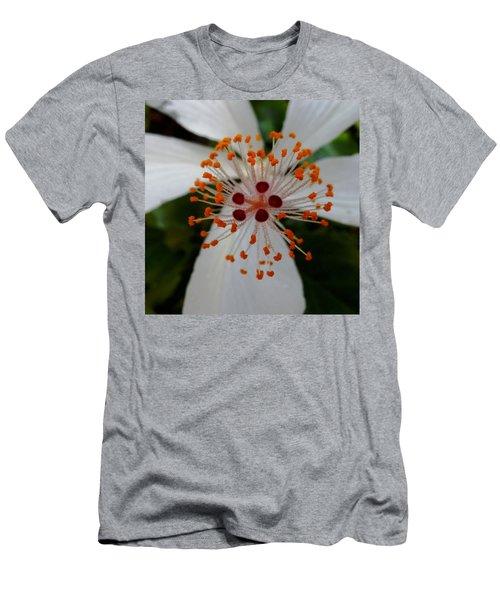 Center Men's T-Shirt (Slim Fit) by Pamela Walton