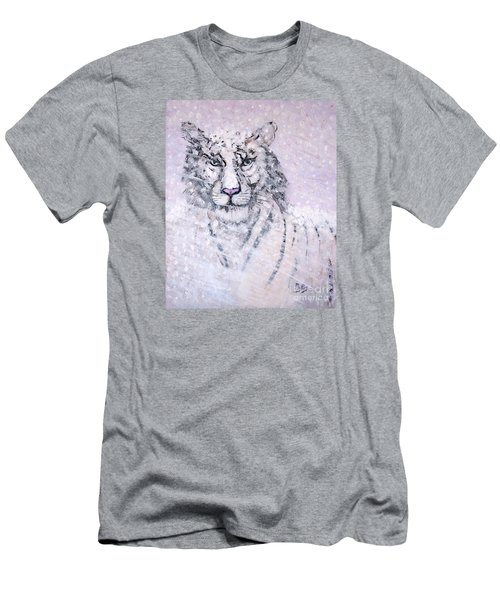Men's T-Shirt (Slim Fit) featuring the painting Chairman Of The Board by Phyllis Kaltenbach