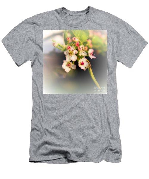Cherry Blossom Flowers Men's T-Shirt (Athletic Fit)