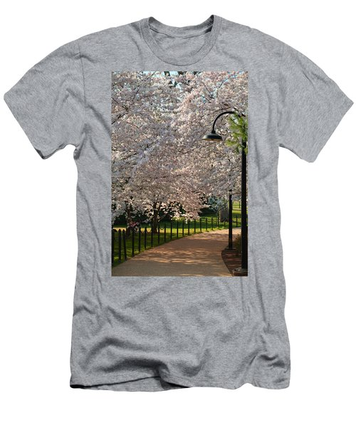 Cherry Blossoms 2013 - 060 Men's T-Shirt (Athletic Fit)