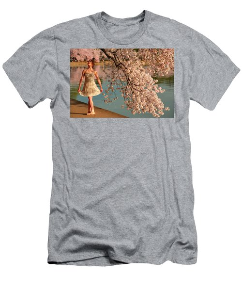 Cherry Blossoms 2013 - 082 Men's T-Shirt (Athletic Fit)