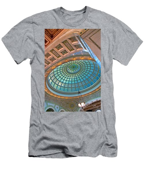 Chicago Cultural Center Tiffany Dome Men's T-Shirt (Athletic Fit)