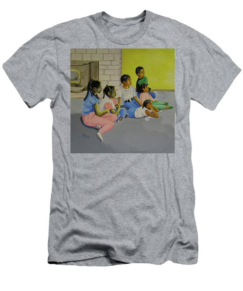 Children's Attention Span  Men's T-Shirt (Athletic Fit)