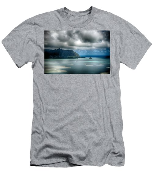 Chinaman's Hat From Puu Maelieli Men's T-Shirt (Athletic Fit)
