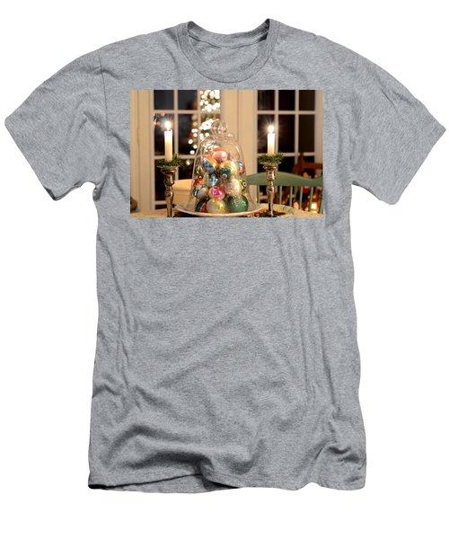 Christmas Ornaments Men's T-Shirt (Athletic Fit)