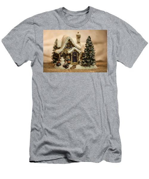 Men's T-Shirt (Slim Fit) featuring the photograph Christmas Toy Village by Alex Grichenko