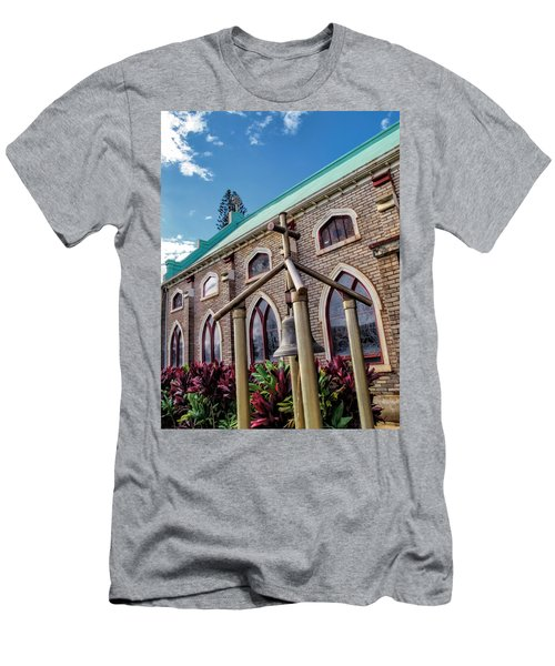 Men's T-Shirt (Slim Fit) featuring the photograph Church 5 by Dawn Eshelman