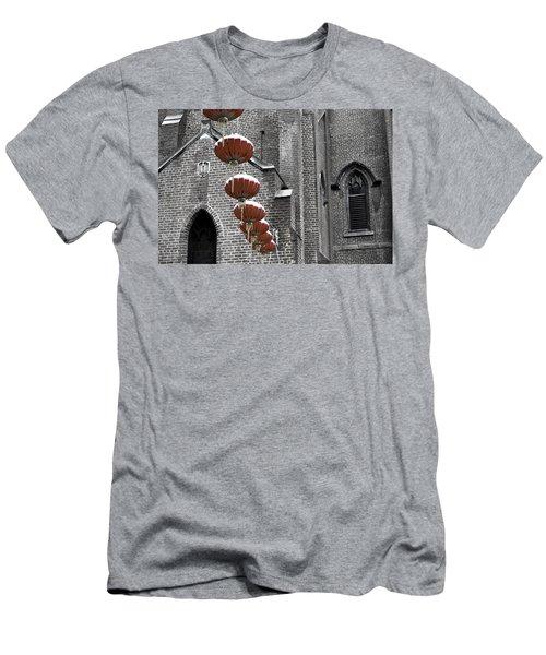 Church Lanterns Men's T-Shirt (Athletic Fit)