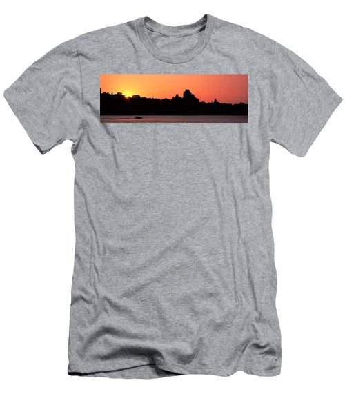 City At Sunset, Chateau Frontenac Men's T-Shirt (Athletic Fit)