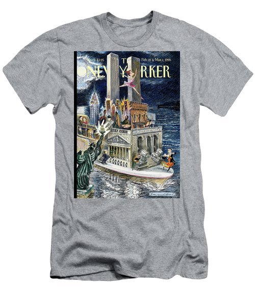 City Of Dreams Men's T-Shirt (Athletic Fit)