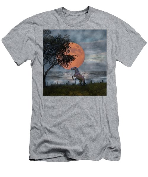 Claiming The Moon Men's T-Shirt (Athletic Fit)
