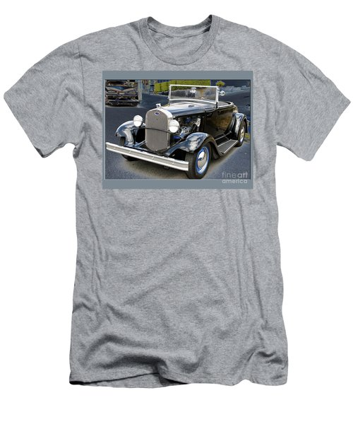 Classic Ford Men's T-Shirt (Slim Fit) by Victoria Harrington