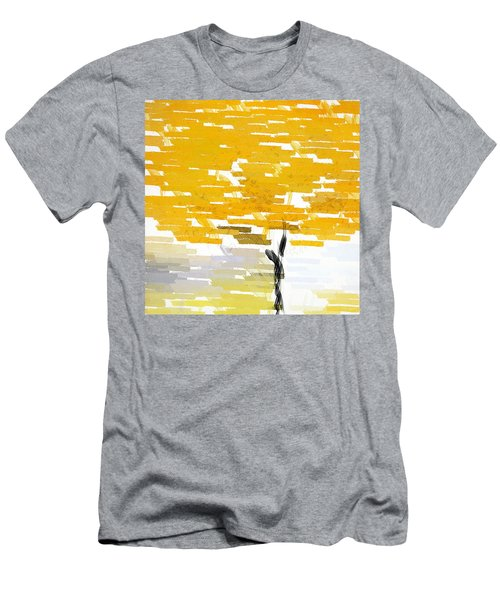 Classy Yellow Tree Men's T-Shirt (Athletic Fit)