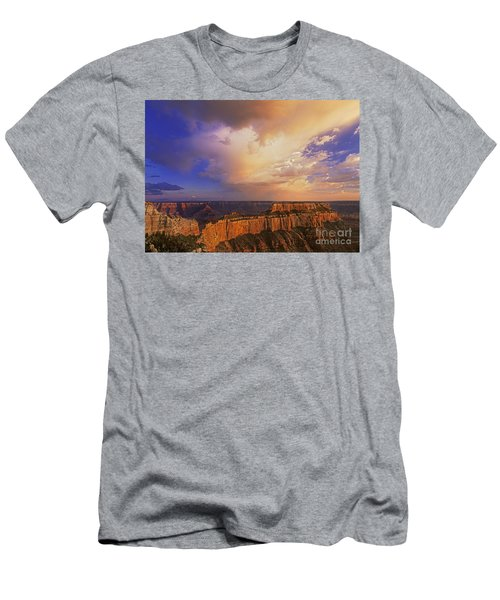 Men's T-Shirt (Slim Fit) featuring the photograph Clearing Storm Cape Royal North Rim Grand Canyon Np Arizona by Dave Welling