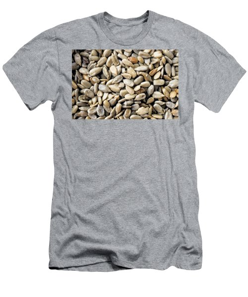 Close-up Of Sunflower Seeds Men's T-Shirt (Athletic Fit)