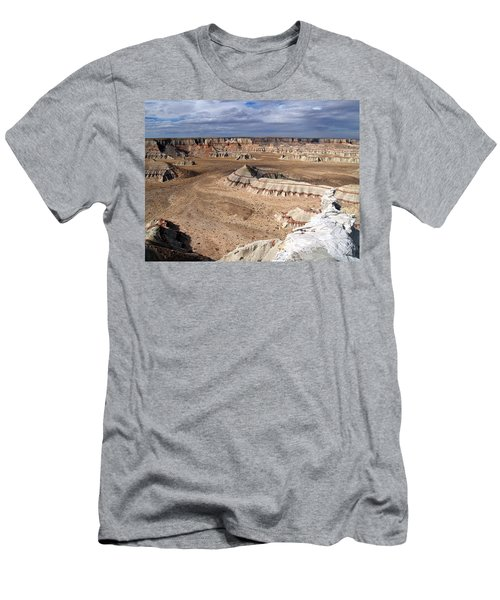 Coal Mine Mesa 11 Men's T-Shirt (Slim Fit) by Jeff Brunton