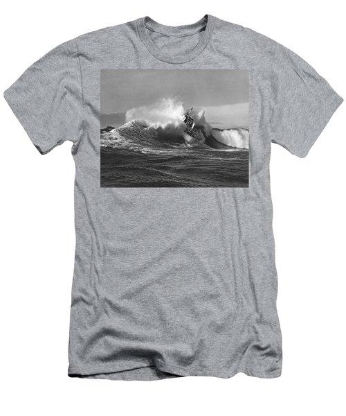 Coast Guard Surf Rescue Boat Men's T-Shirt (Athletic Fit)